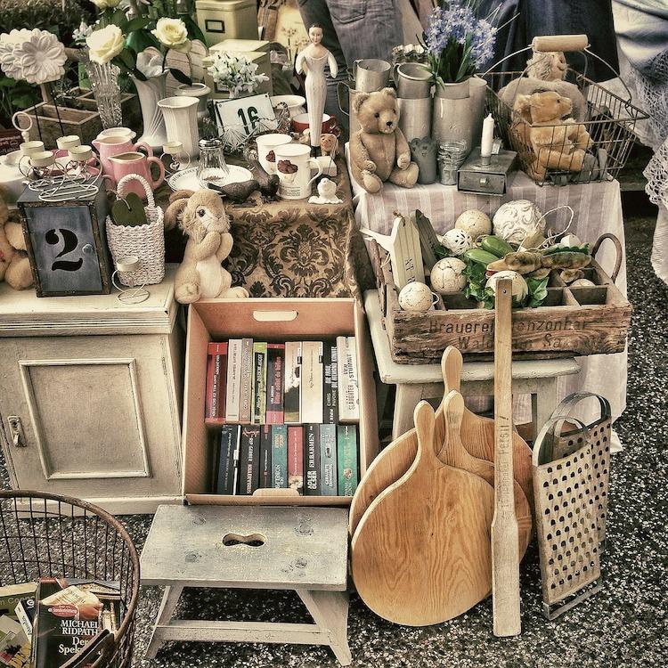 flea market finds in France