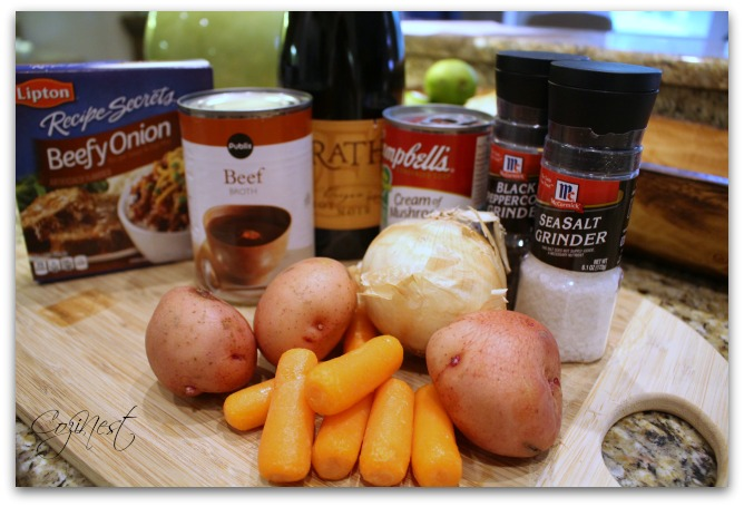 Pot Roast Ingredients