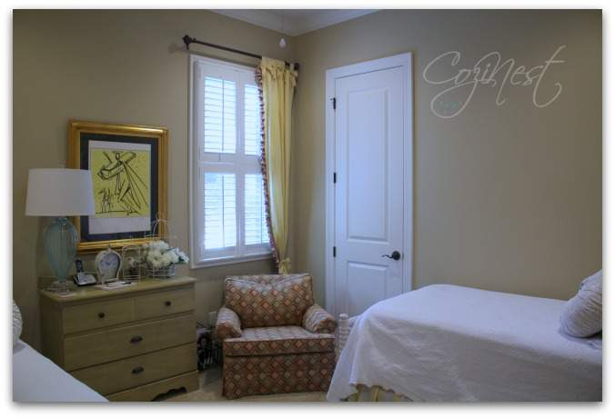 A Cozy Cottage Style Guest Room