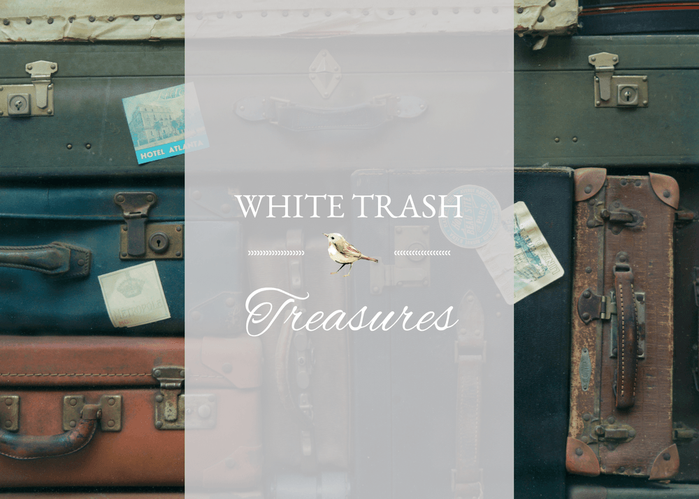 White Trash Treasure – Duncan Phyfe Table