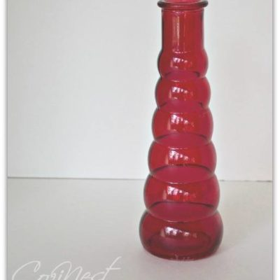 Red Bud Vase