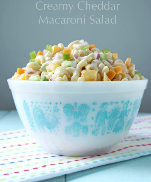 Creamy Cheddar Macaroni