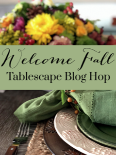 Welcome Fall Tablescape Blog Hop