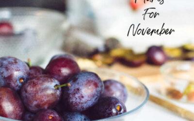 4 Delightful November Plums to Sweeten Your Dinner
