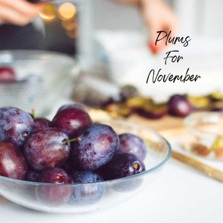 Plums for November