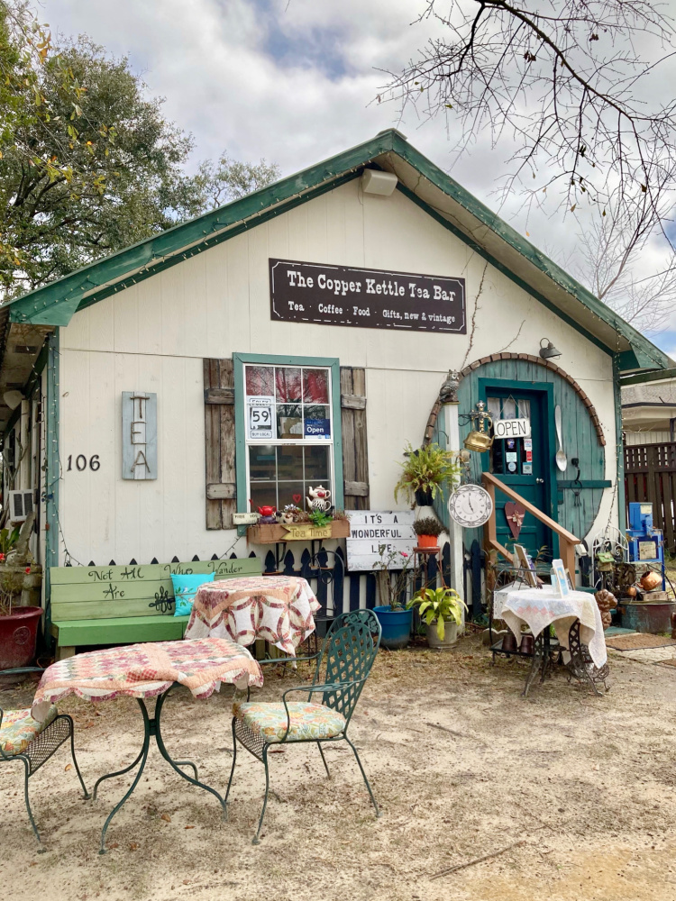 Copper Kettle Tea Bar, Foley AL